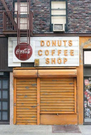 Donuts Coffee Shop by Randy Hage