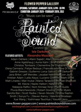 Painted Sound @ Flower Pepper Gallery