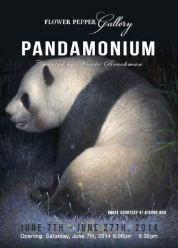 Pandamonium @ Flower Pepper Gallery