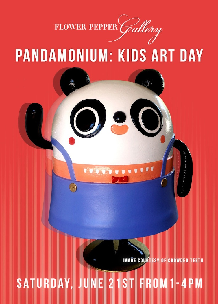 Pandamonium Kids Art Day @ Flower Pepper Gallery