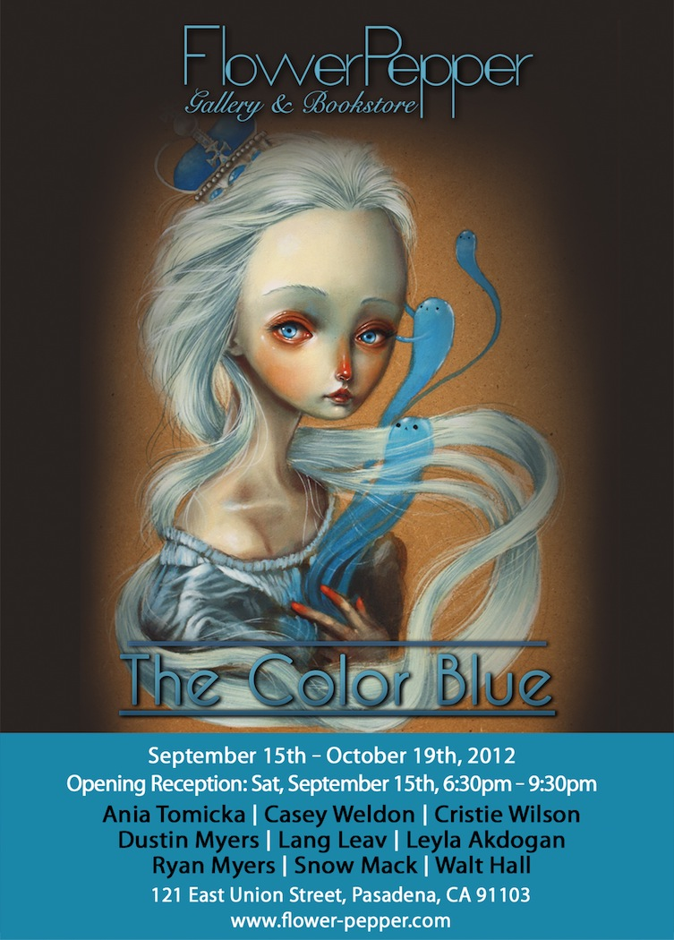 The Color Blue @ Flower Pepper Gallery