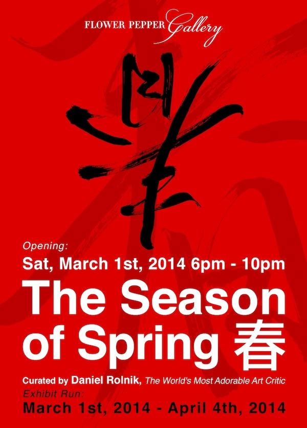 The Season of Spring @ Flower Pepper Gallery
