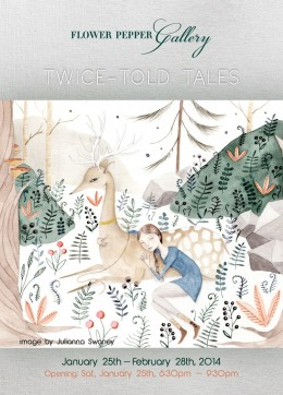 Twice Told Tales @ Flower Pepper Gallery