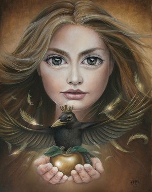 The Golden Blackbird by Deanna Rene Adona