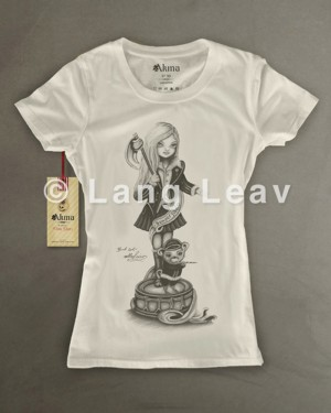 Band Girl Tshirt by Akina