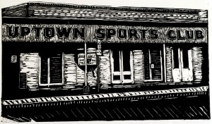 Uptown Sports Club by Laura Thoms