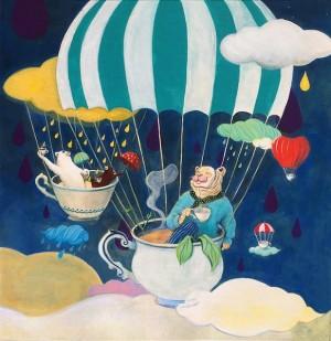 Midnight Tea Shower by Junhee Sim