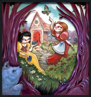 Snow White Rose Red by Miss Mindy