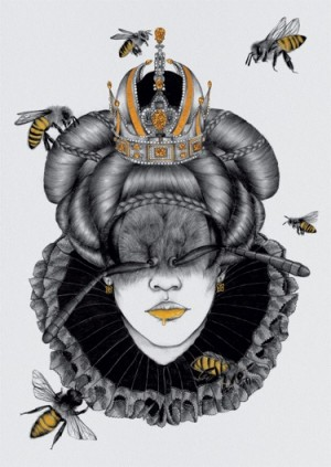 The Queen Bee by The White Deer