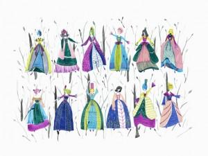 The Twelve Dancing Princesses by Yejin Oh