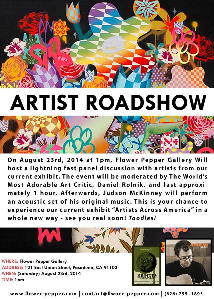 Artists Across America Artist Roadshow