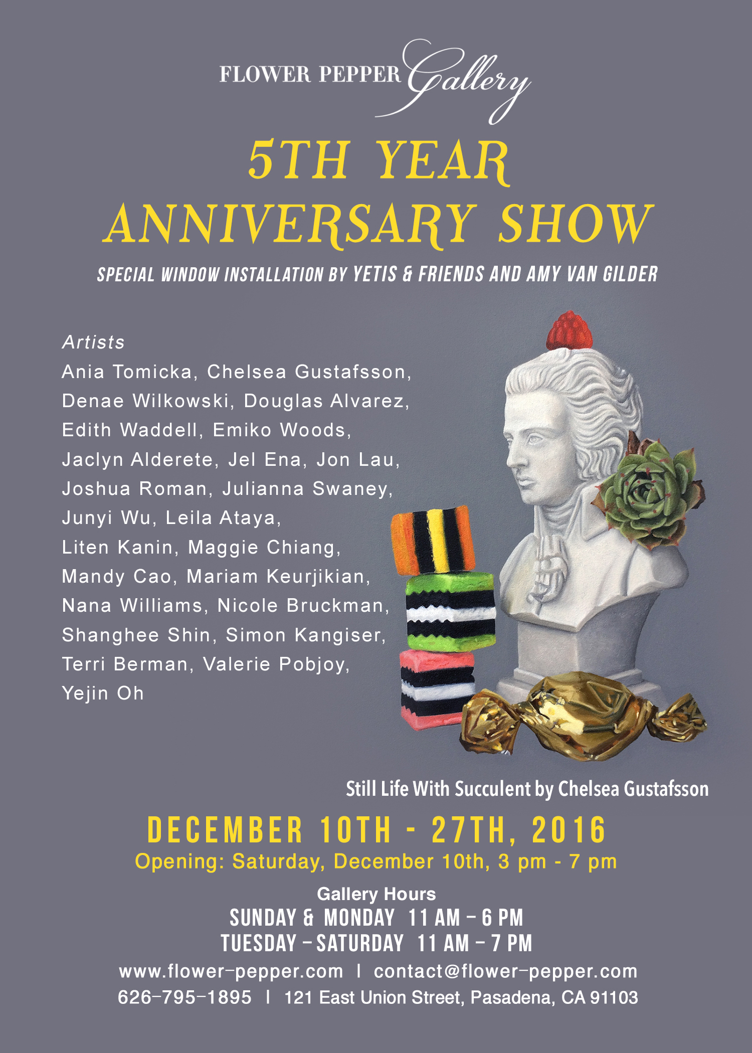 5th Year Anniversary Show