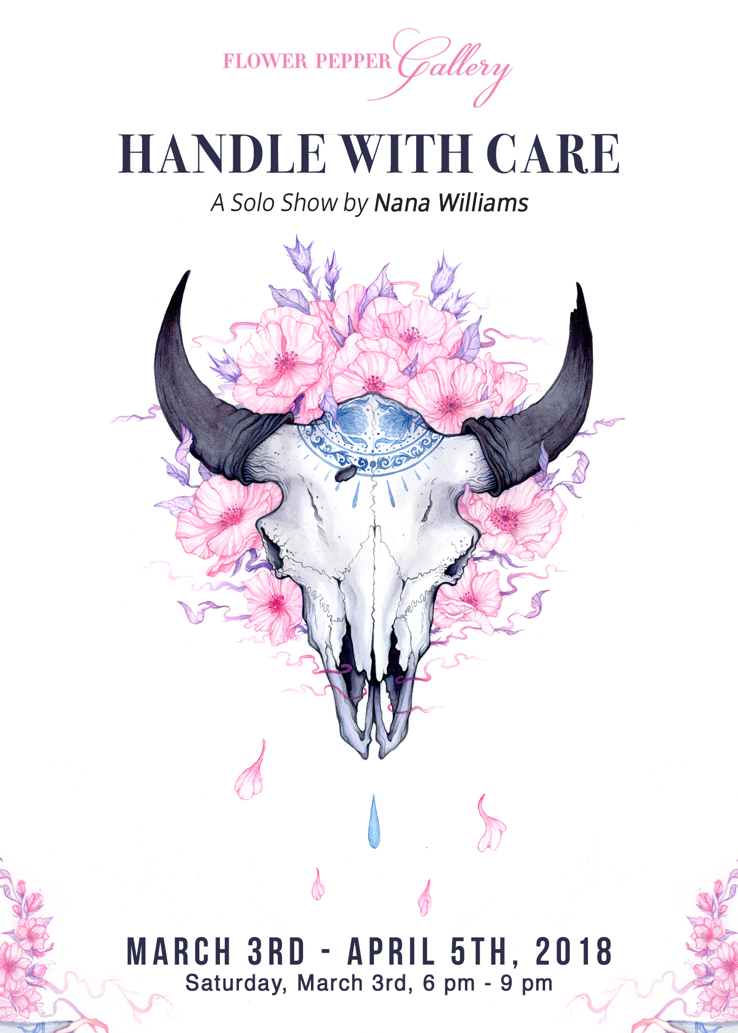 Handle with Care, A Solo Show by Nana Williams