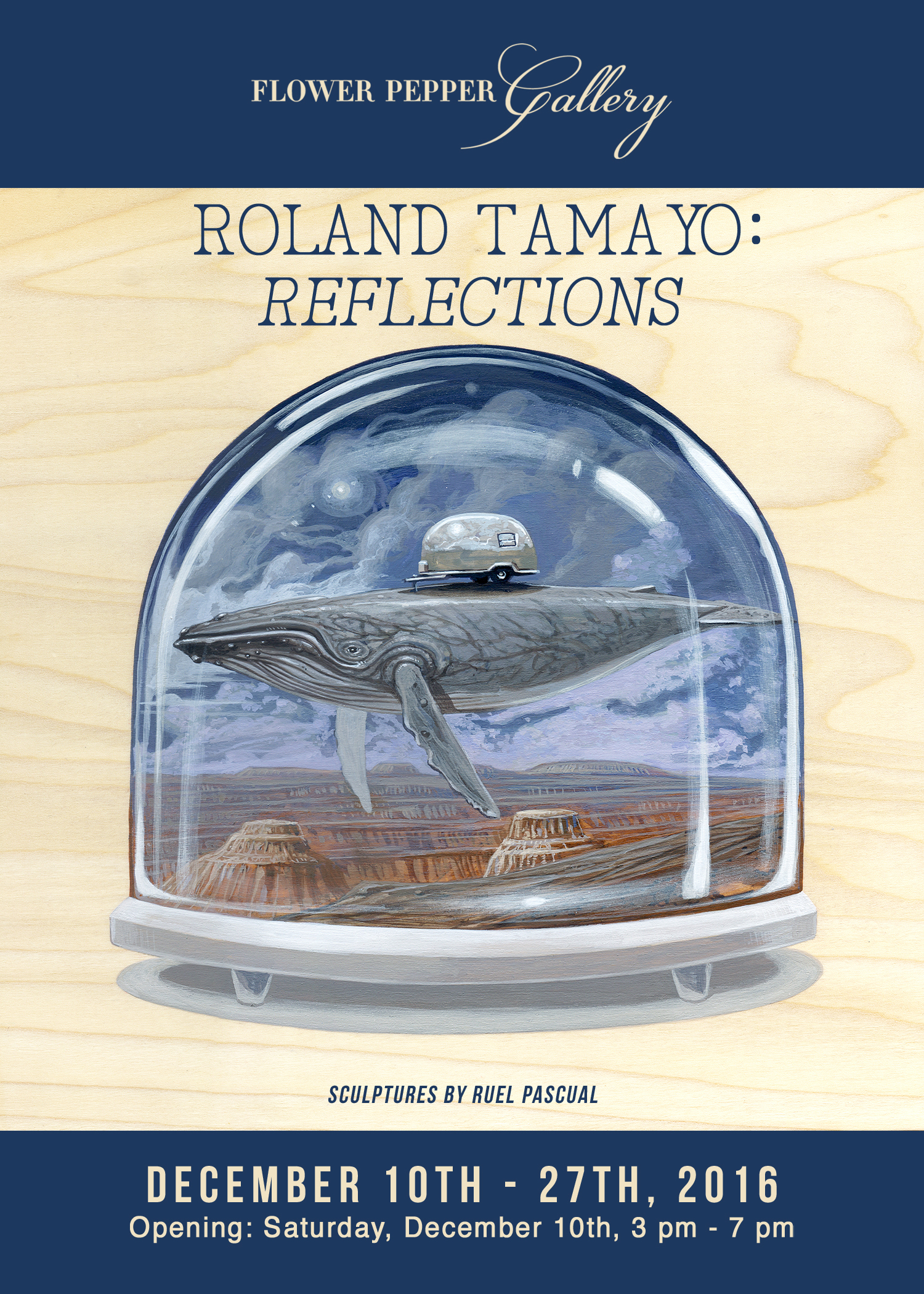 Roland Tamayo: Reflections
