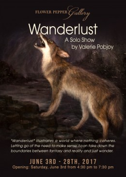 Wanderlust, A Solo Show by Valerie Pobjoy