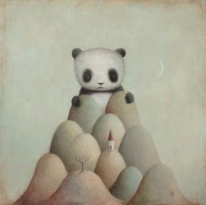 Giant Panda by Paul Barnes