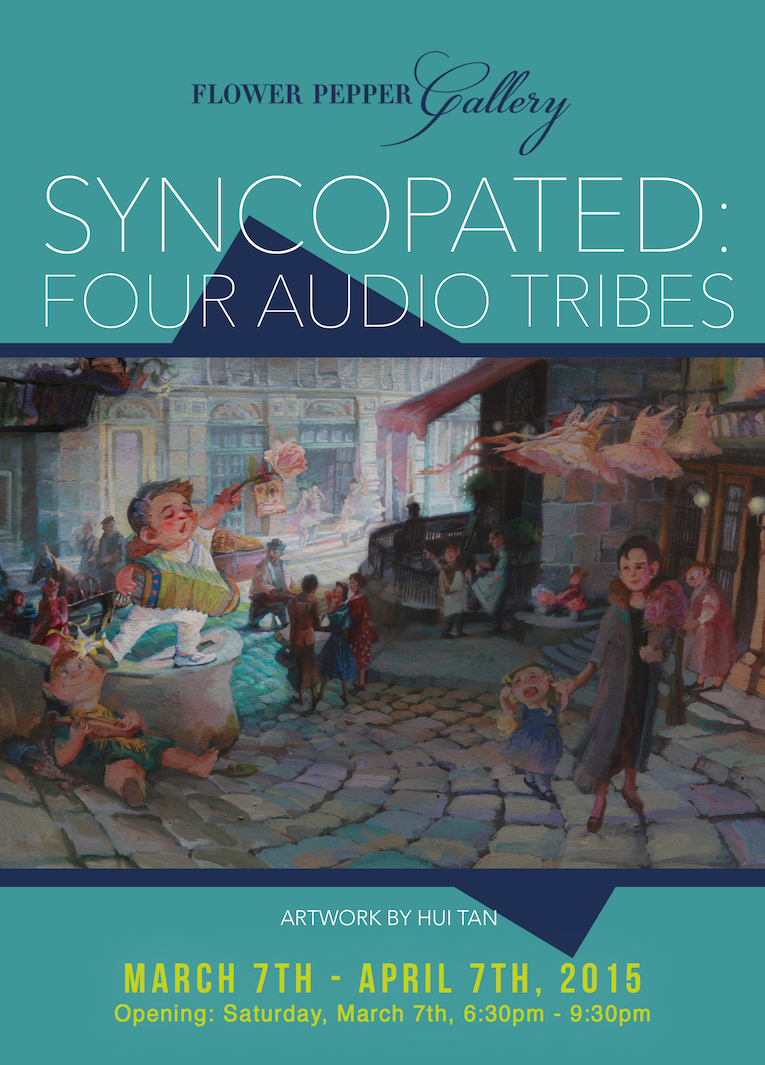 Syncopated Four Audio Tribes Front