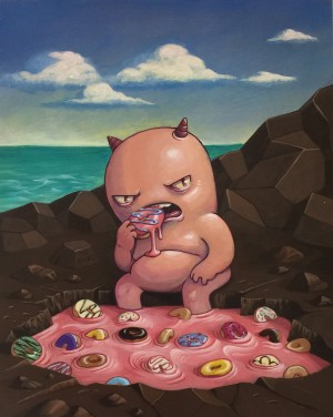 At The Donut Hole by David Chung