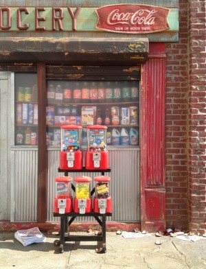 Gumball Machines by Randy Hage