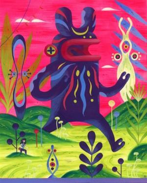 A Wild Goomblaah Appears by Jesse Tise