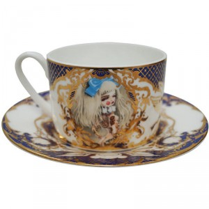 Kukula Chachkeis Darlings Cup And Saucer