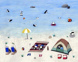 Beach Camping by Paige Jiyoung Moon