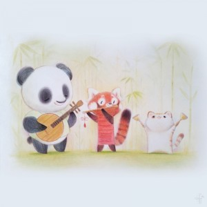 Panda Tunes 2 by Heather Gross