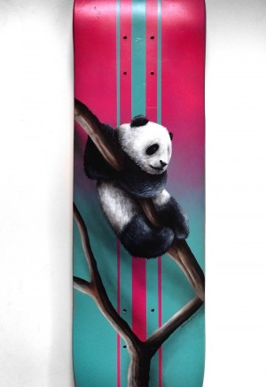 Panda on Board by Jonathan Martinez