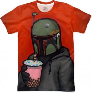 Boba by Luck Chueh Men's T-Shirt Front