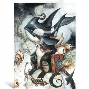 Finding Home by Greg 'Craola' Simkins Greeting Card