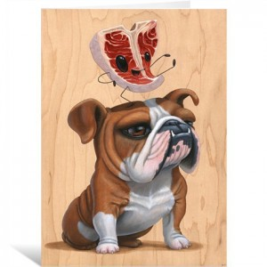 Meathead by Cuddly Rigor Mortis Greeting Card