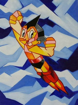 Astroboy Redux by Keith Dugas