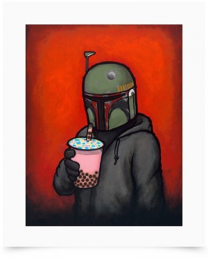 Boba by Luke Chueh Fine Art Print