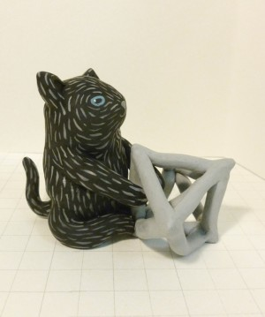 Geometric Cat by Liten Kanin