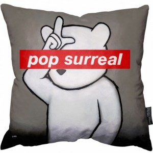 Luke Chueh Pop Surreal Pillow Floor Pillow