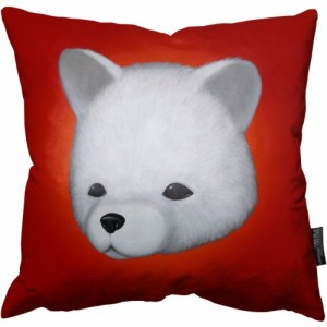 Luke Chueh Renaissance Bear Pillow