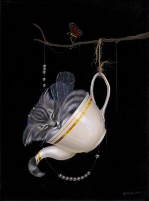 The Pot of Earl Grey by Leila Ataya