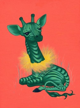 Giraffable by Allison Bamcat