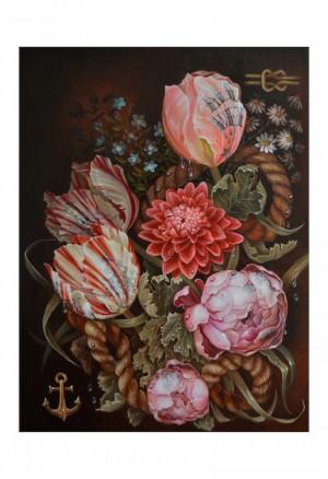 Fleur d'eau Print by Susanne Apgar