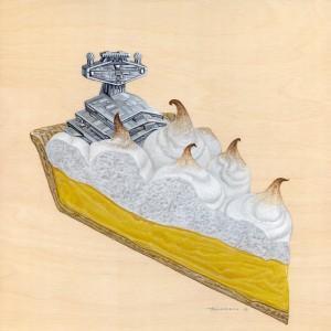 Lemon Meringue Pie by Roland Tamayo