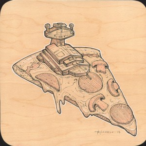 My Favorite Pizza Toppings Study by Roland Tamayo