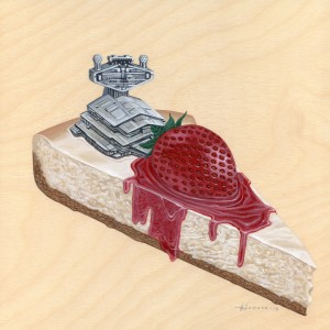 Strawberry Cheesecake by Roland Tamayo