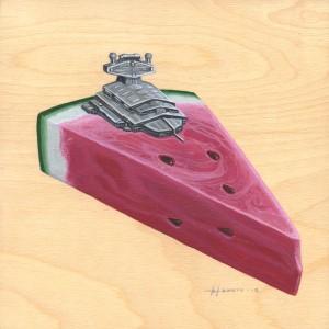 Watermelon by Roland Tamayo