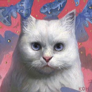A Cat From Keewatin Avenue by KiSung Koh