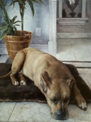 Waiting Around by Valerie Pobjoy
