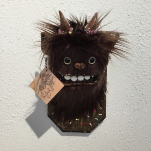 Doughnut Yeti (Small) Brown by Yetis And Friends