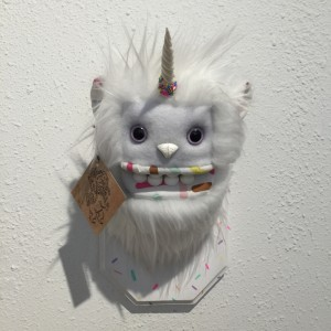 Doughnut Yeti (Small) White by Yetis And Friends