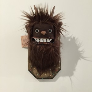 Doughnut Yeti (Small) Brown 2 by Yetis & Friends