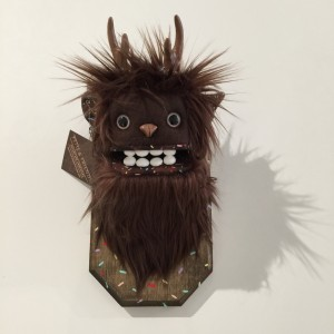 Doughnut Yeti (Small) Brown 3 by Yetis & Friends