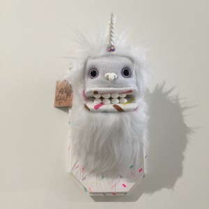 Doughnut Yeti (Small) White 3 by Yetis & Friends